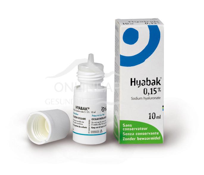 Hyabak® Augentropfen 3x10ml