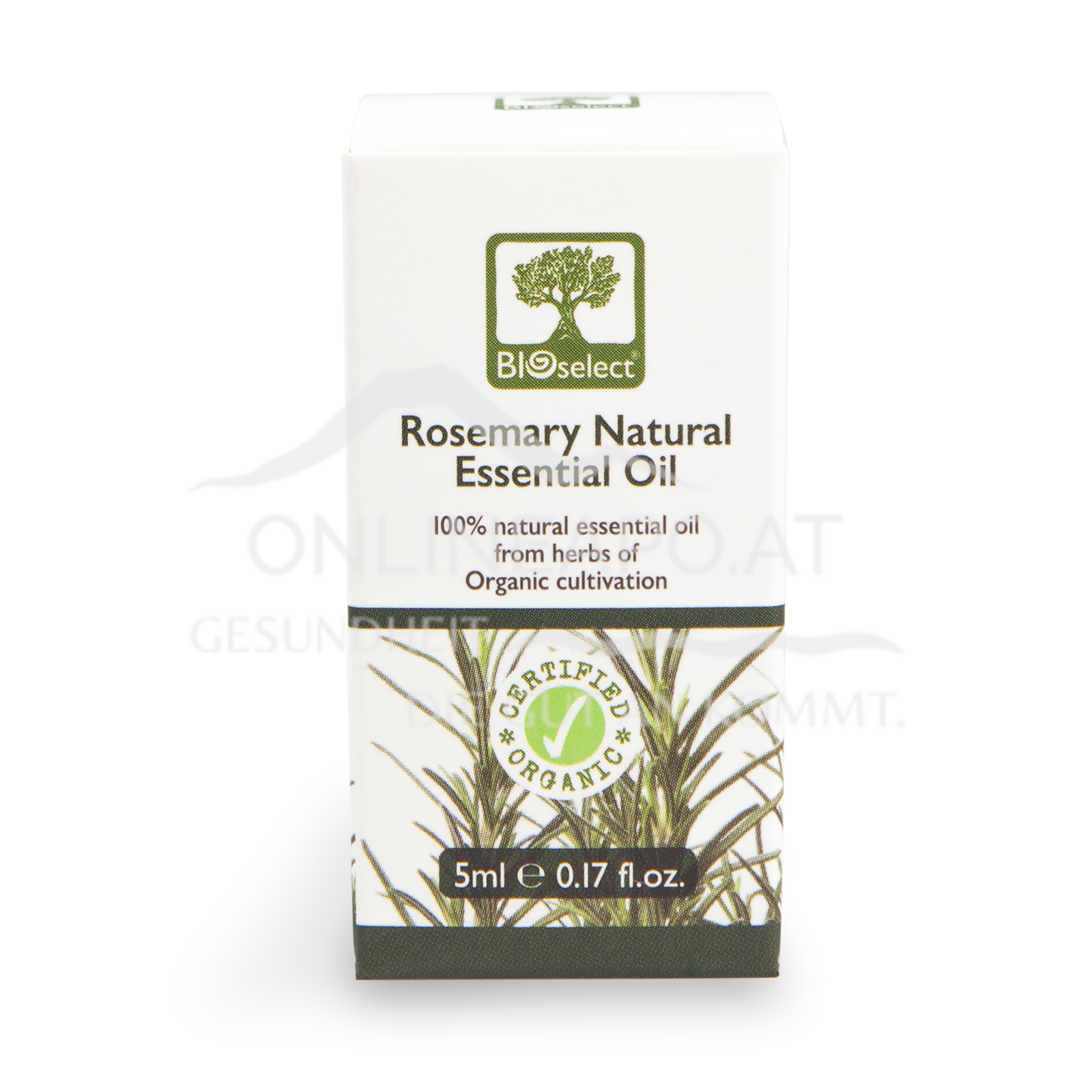 Bioselect Rosmary Natural Essential Oil Certified Organic