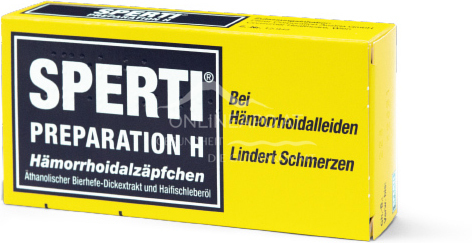 Sperti® Preparation H Hämorrhoidalzäpfchen