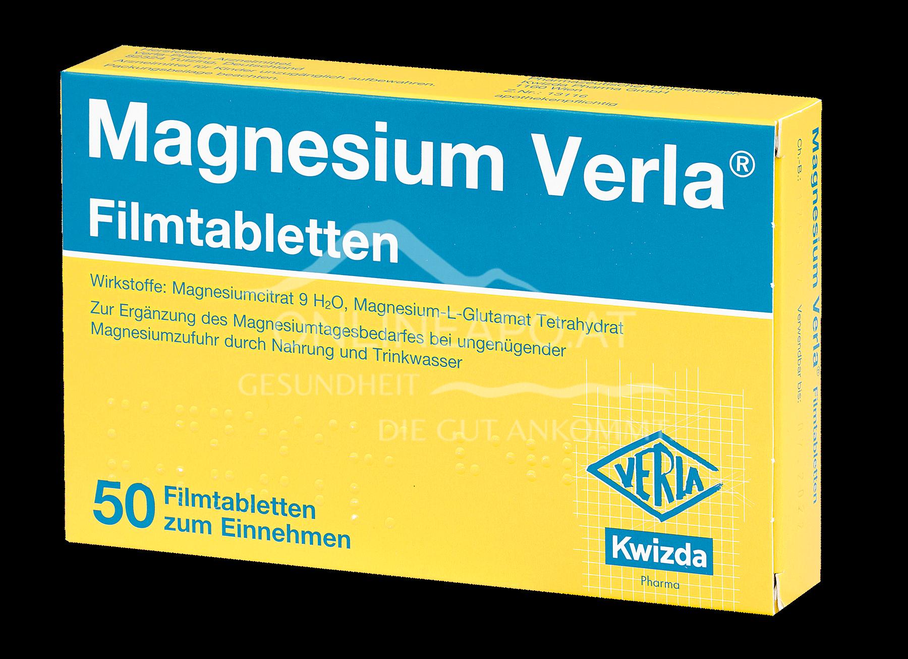 MAGNESIUM VERLA® Filmtabletten