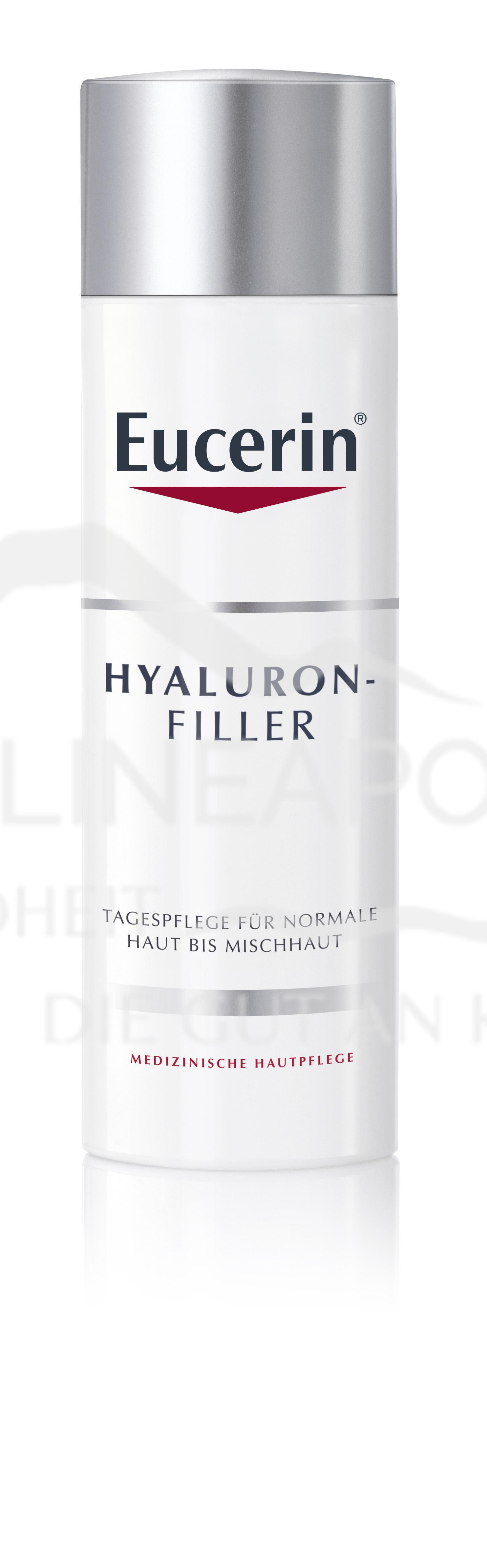 Eucerin HYALURON-FILLER TAGESPFLEGE für normale bis Mischhaut