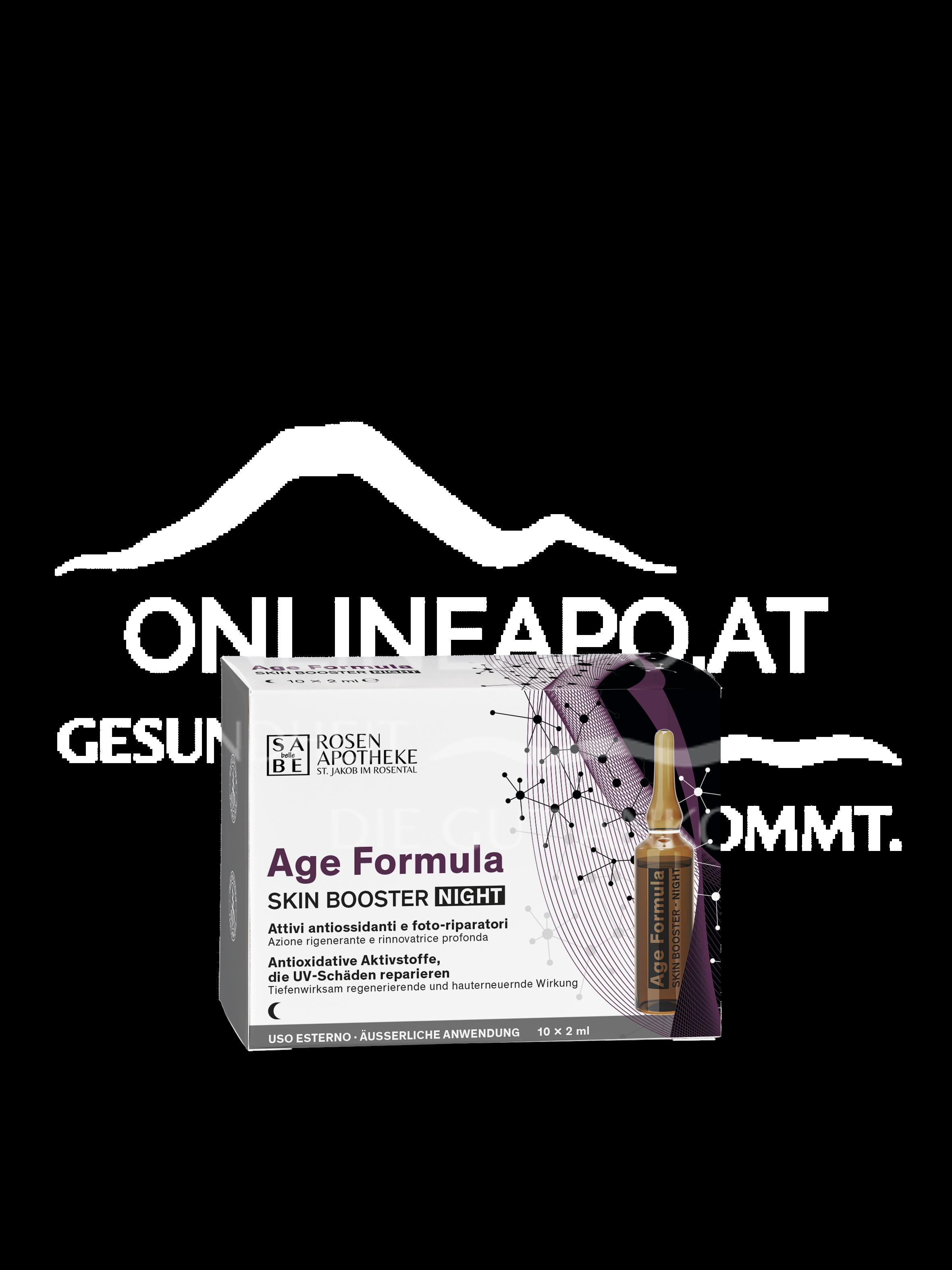 SABE belle Age Formula Skin Booster Night à 2 ml