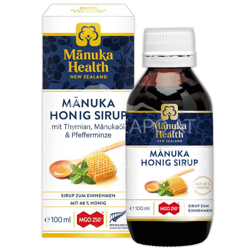 Mānuka Health Honig Sirup MGO 250+ für die ganze Familie