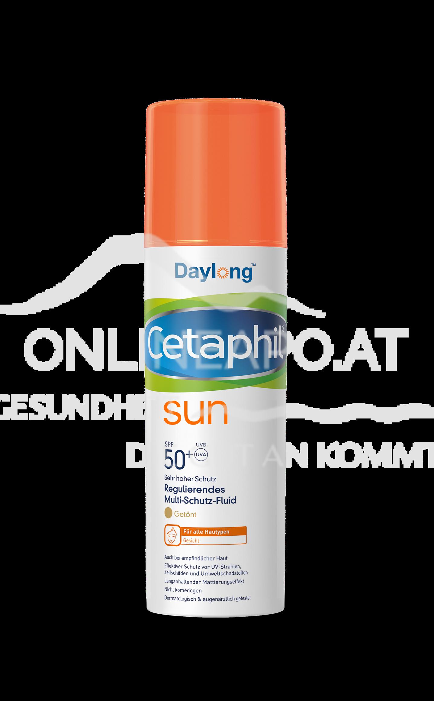 Cetaphil® Sun Daylong™ Regulierendes Multi-Schutz-Fluid Gesicht getönt SPF 50+