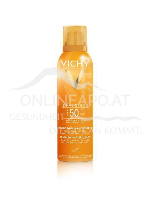 VICHY Ideal Soleil transparentes und feuchtigkeitsspendendes Spray LSF 50