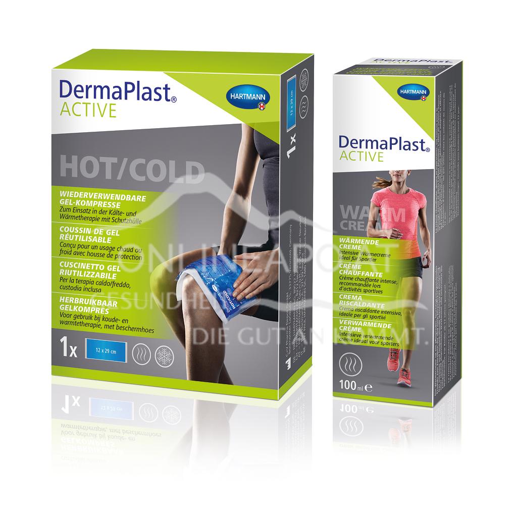 DermaPlast® ACTIVE Hot/Cold,  Wiederverwendebare Gel-Kompresse 12 x 29cm