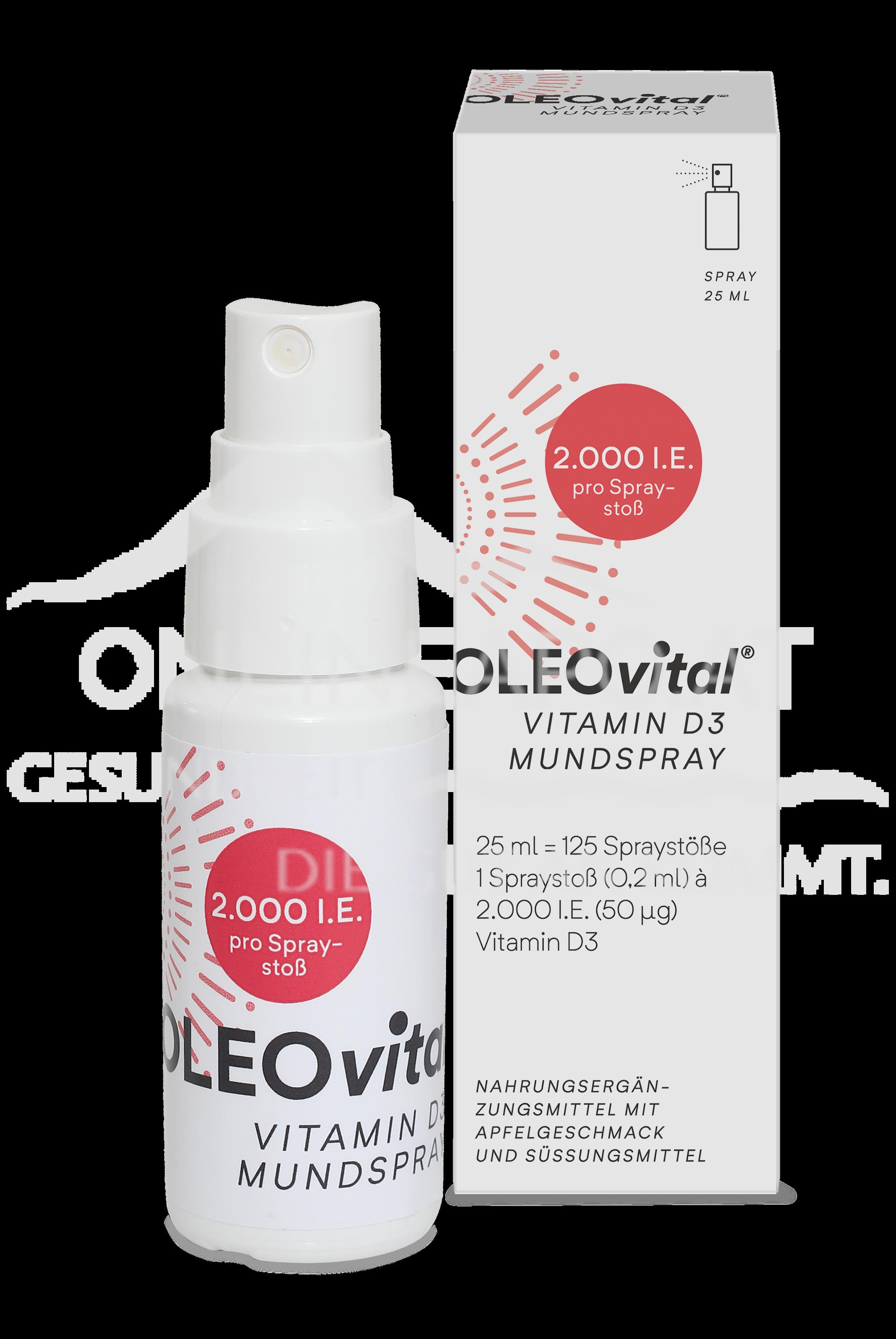 OLEOvital® VITAMIN D3 Mundspray  (2.000 I.E.)
