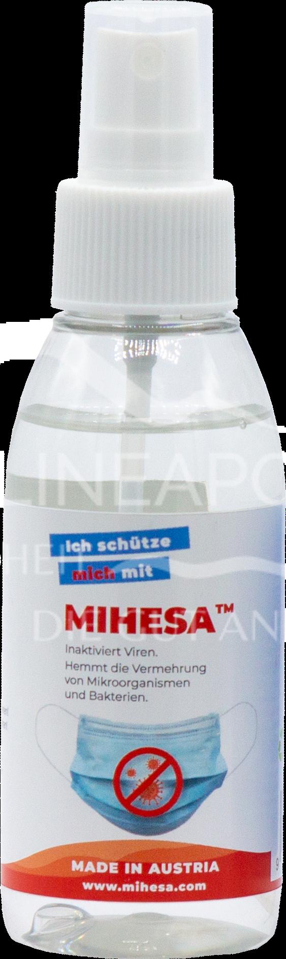 Mihesa Desinfektions- und Imprägnierspray für MNS