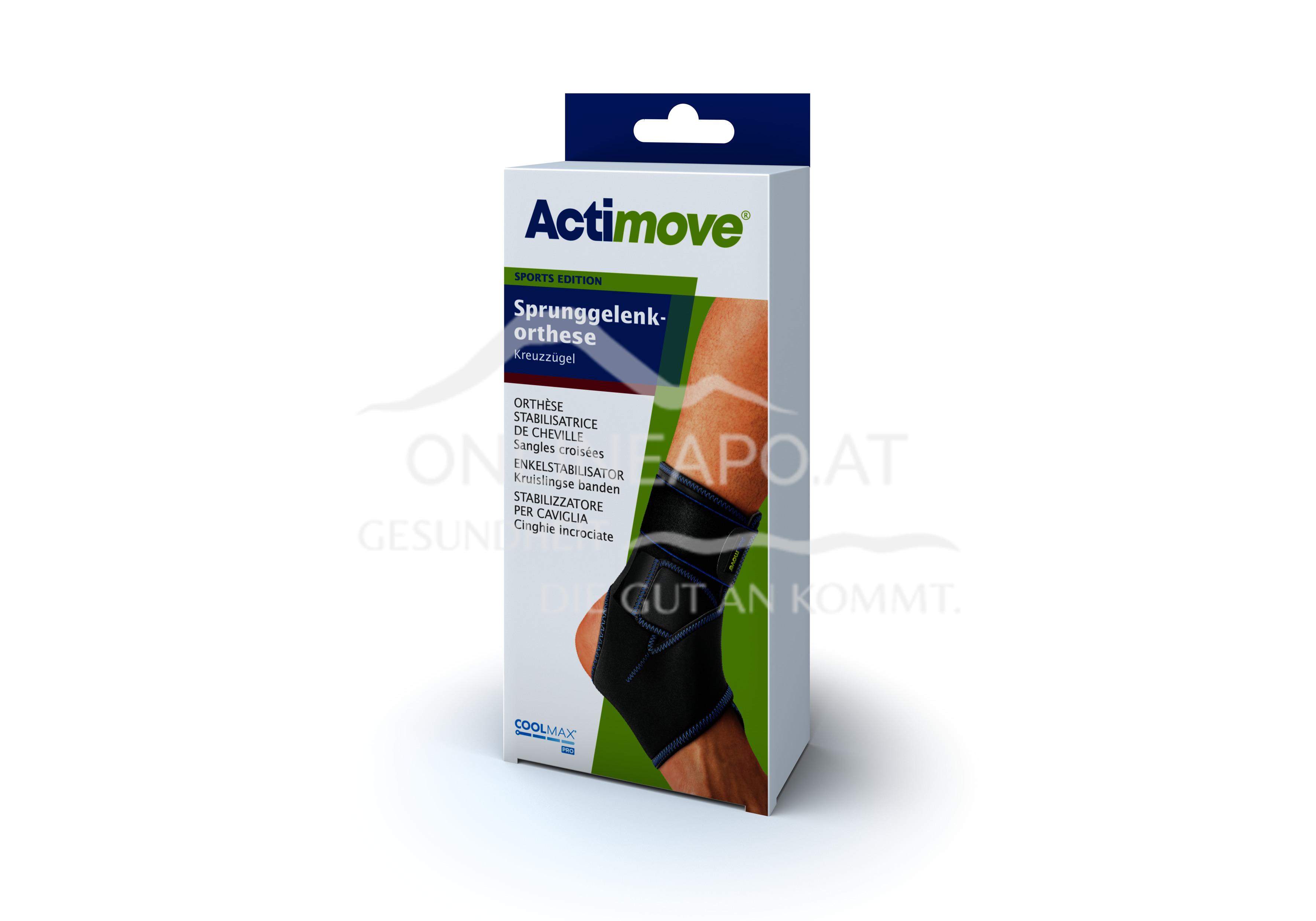 Actimove® Sport Edition Sprunggelenkorthese Kreuzzügel