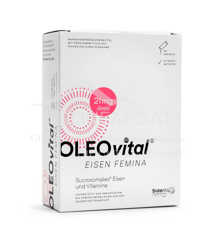 OLEOvital® EISEN FEMINA  (21 mg)
