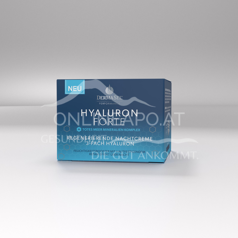 Dermasel Hyaluron Forte regenerierende Nachtcreme