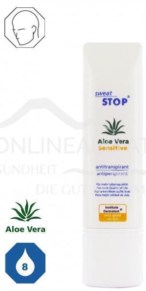 SweatStop Aloe Vera Sensitive Gesichtslotion
