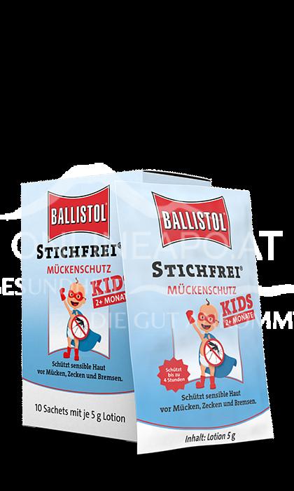 Ballistol Stichfrei Kids Mückenschutz Sachets