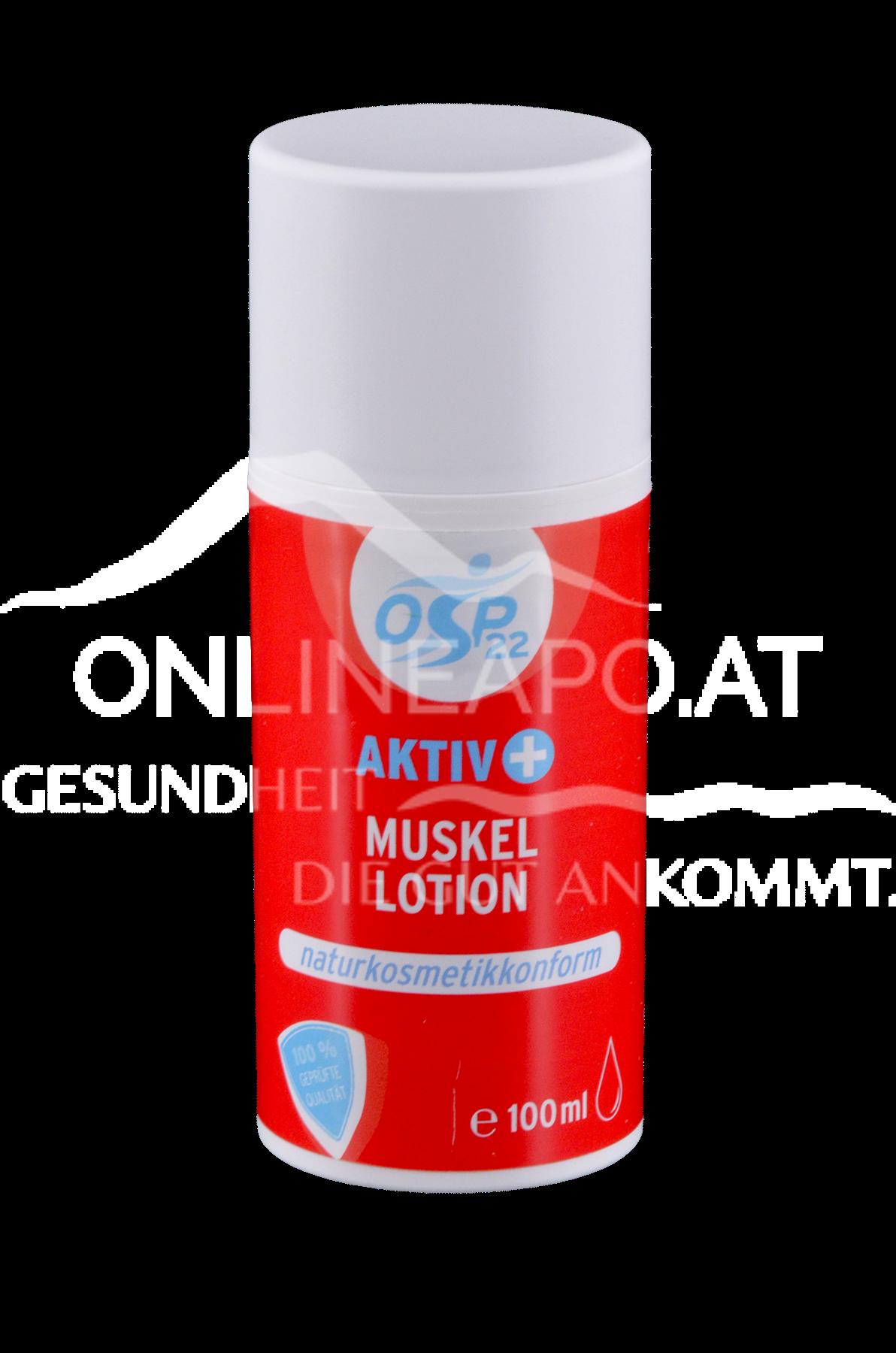 OSP22 Aktiv+ Muskel Lotion