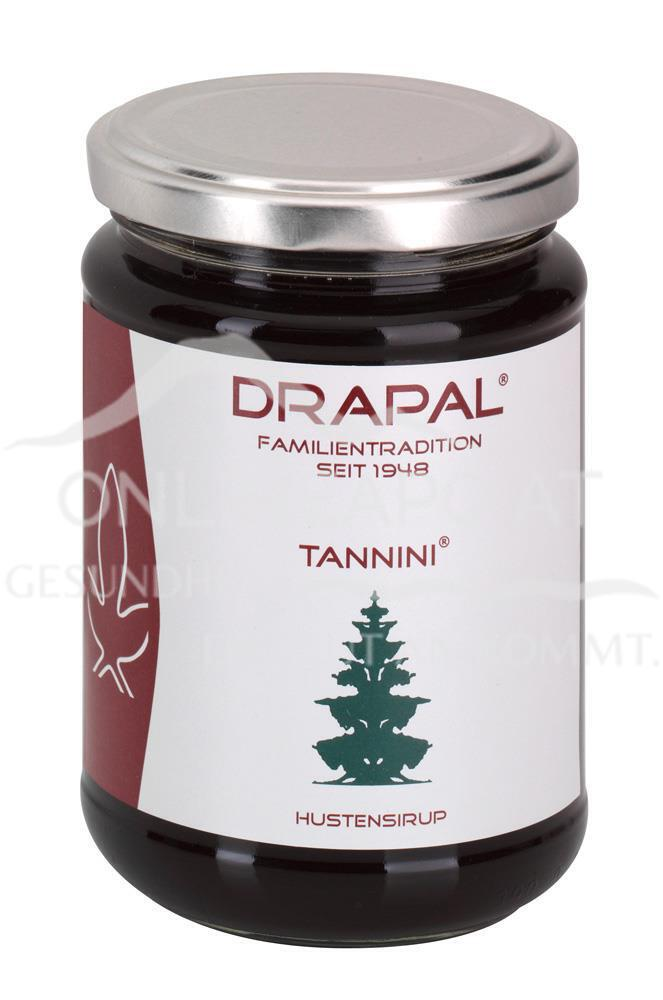 DRAPAL® Tannini Hustensirup Glas ohne Faltschachtel