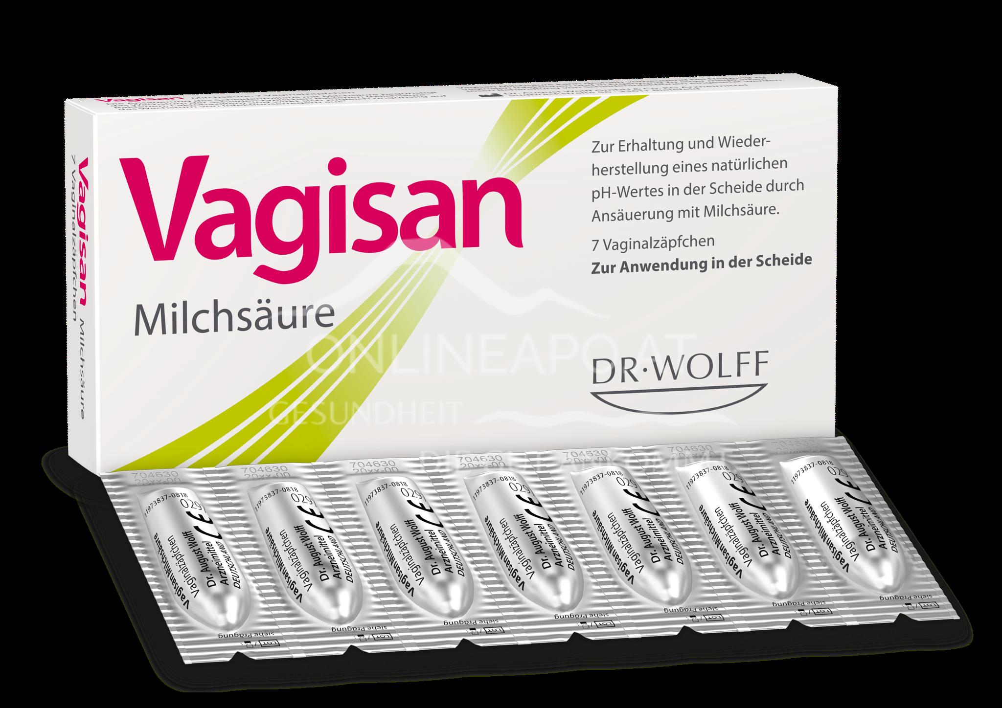 Vagisan® Milchsäure-Vaginalzäpfchen