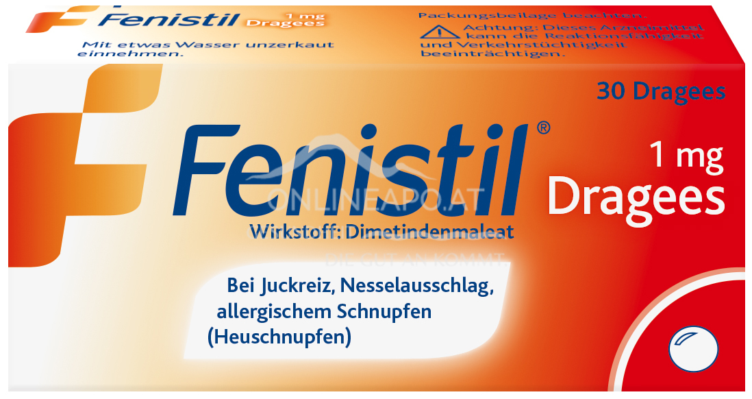 Fenistil® 1mg-Dragees