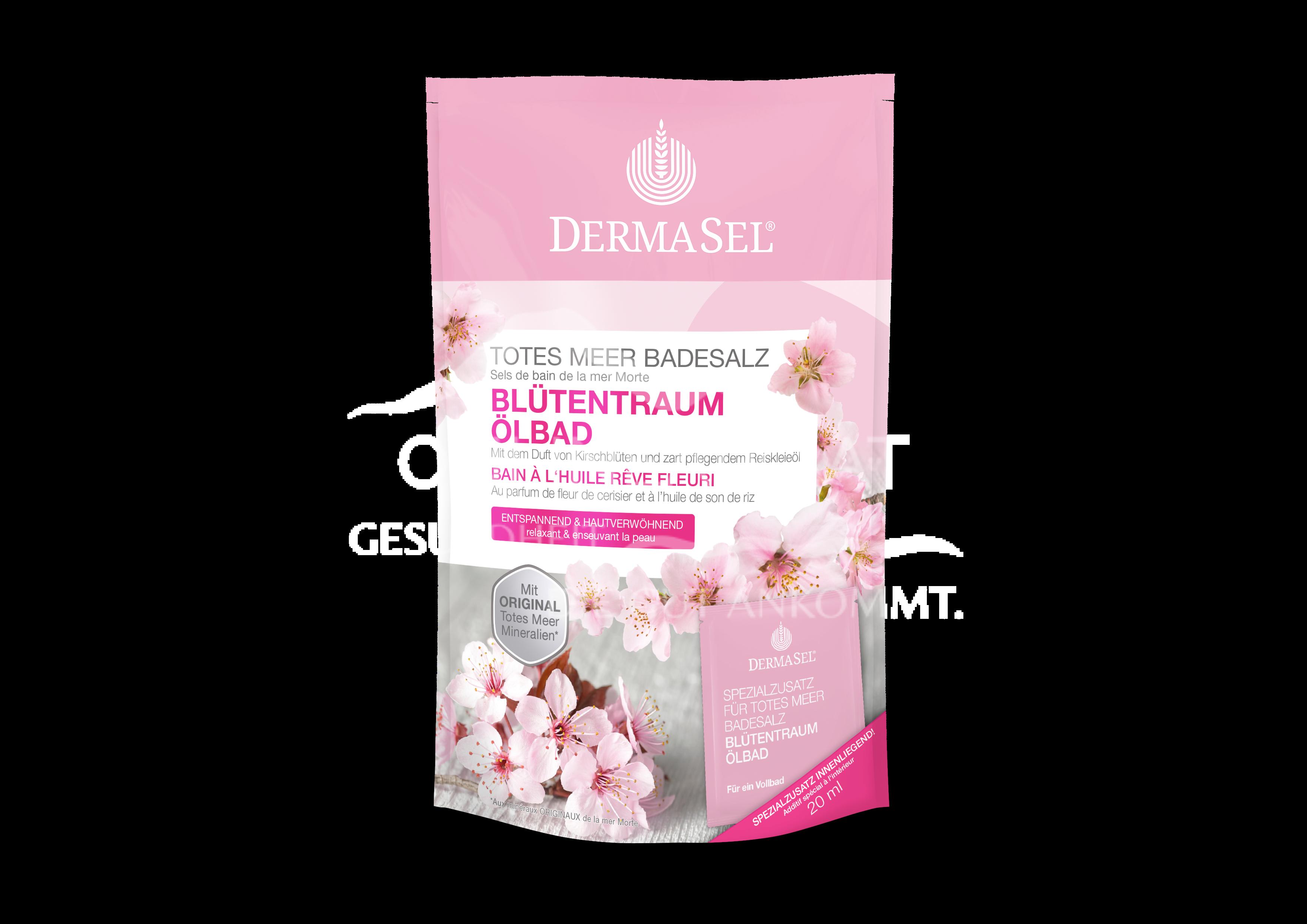 DermaSel® Totes Meer Blütentraum Ölbad