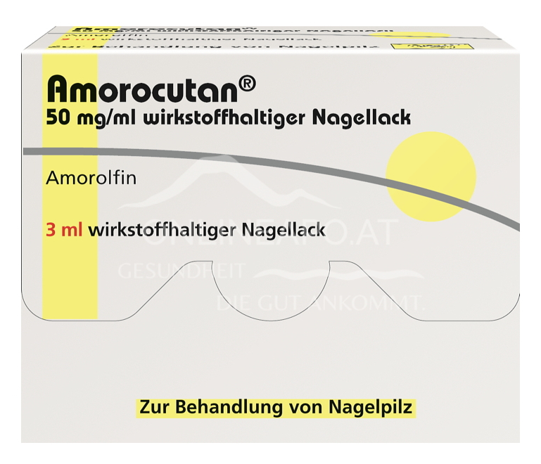 Amorocutan Nagellack