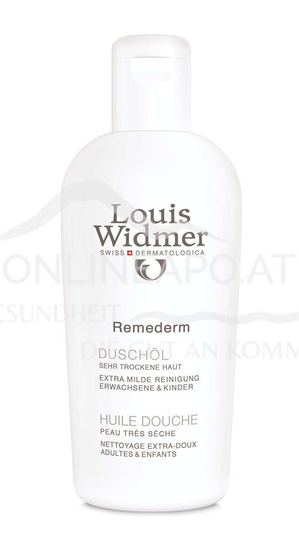 Louis Widmer Remederm Duschöl leicht parfümiert