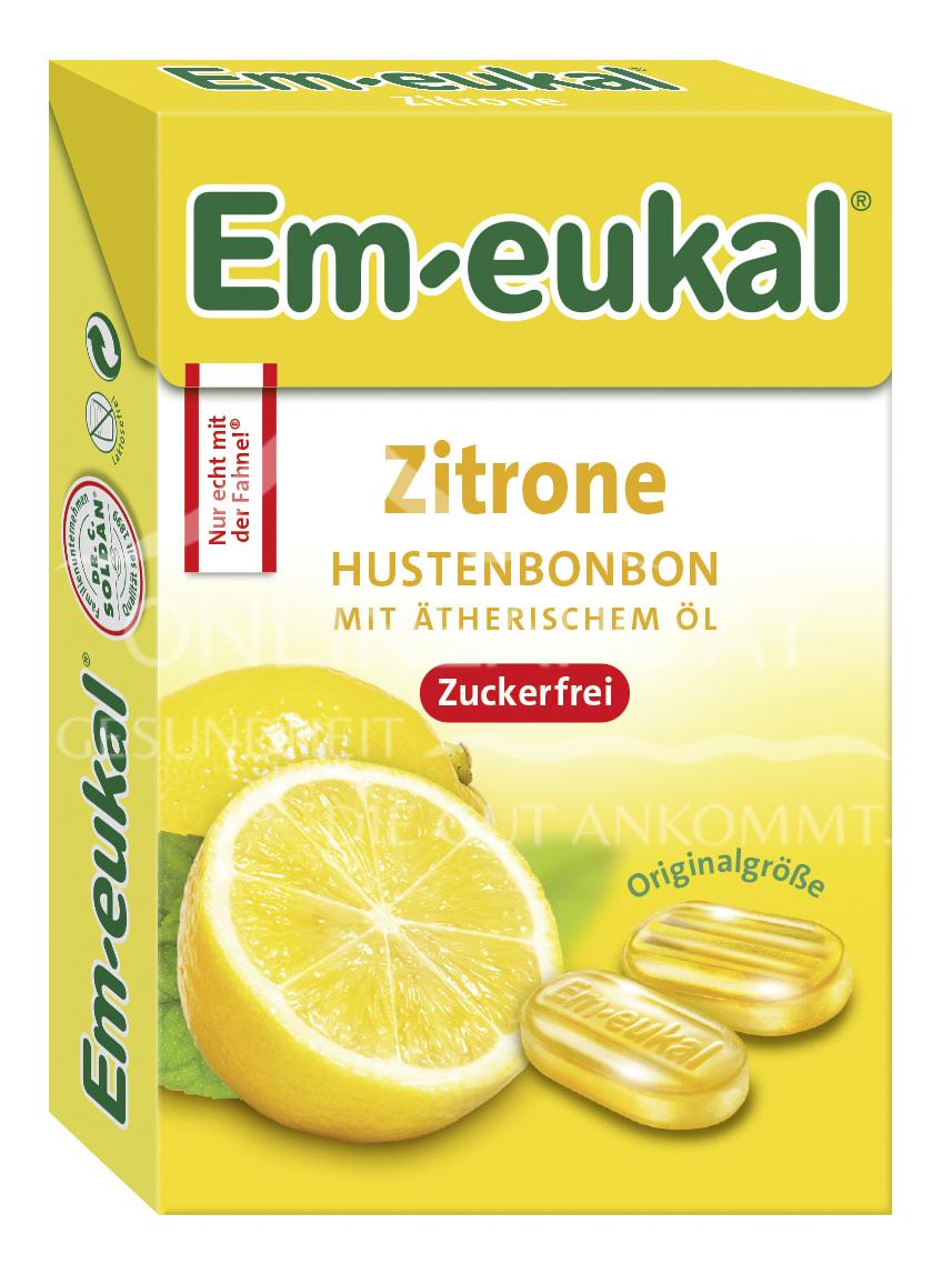 Em-eukal  Zitrone MINIS zuckerfrei