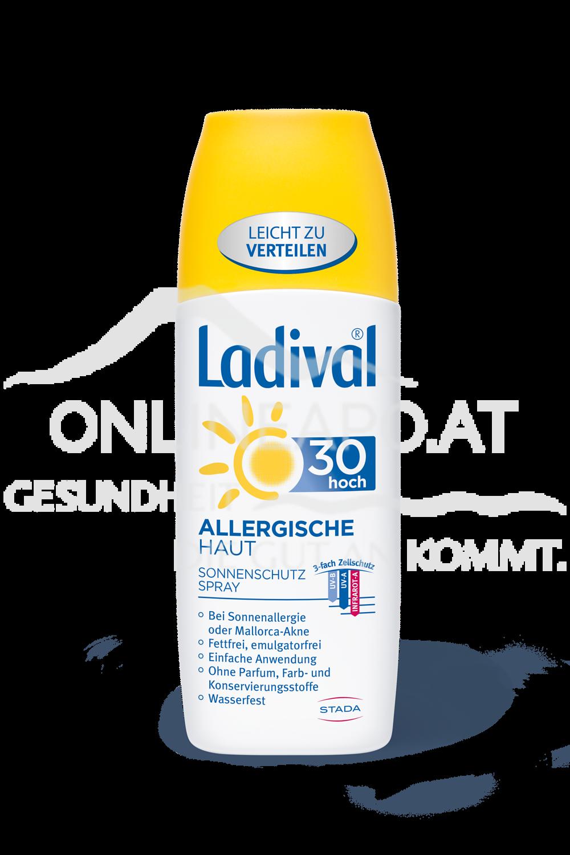 LADIVAL® allergische Haut Sonnenschutz Spray LSF 30