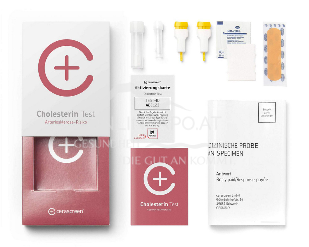 Cerascreen Cholesterin Test