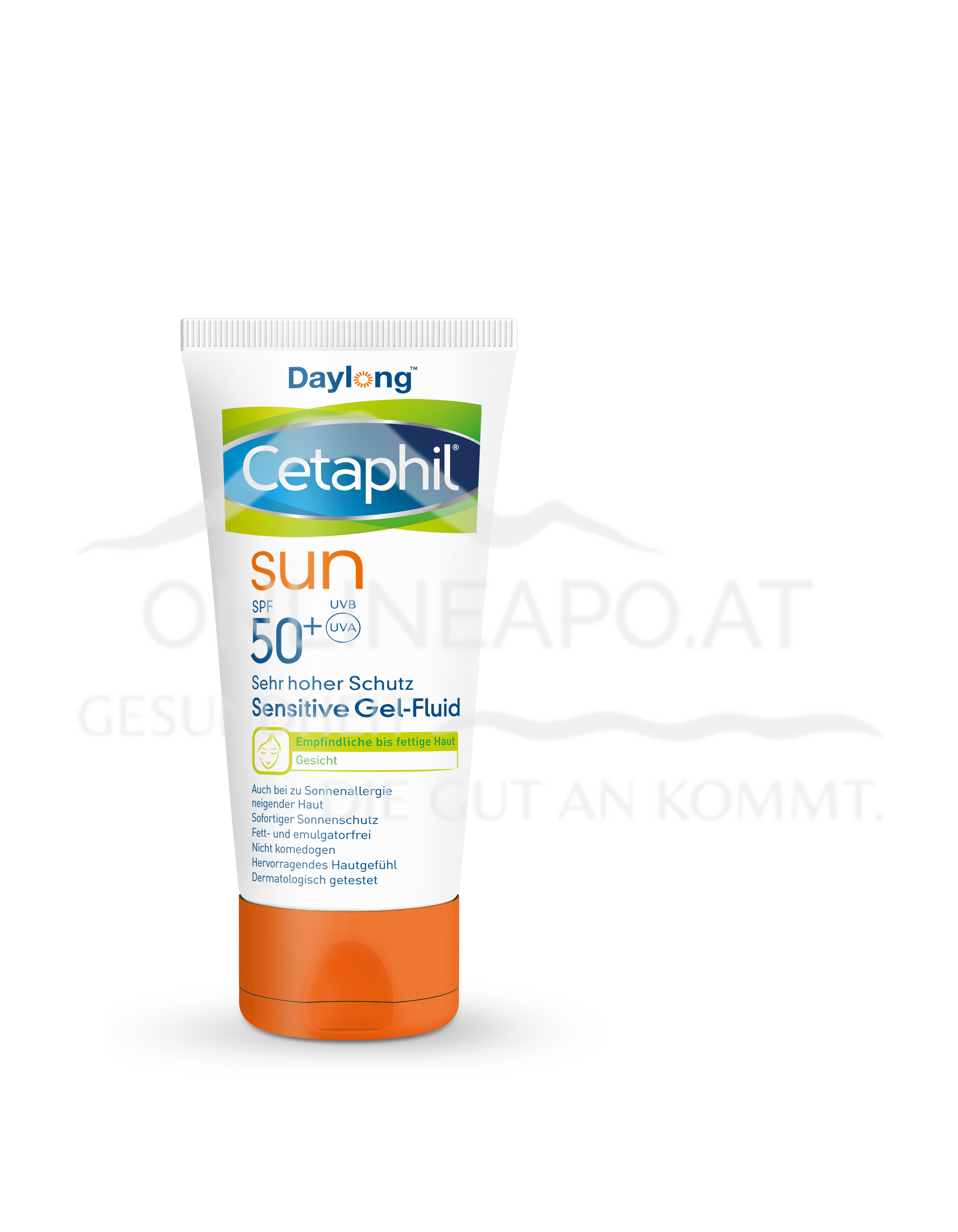 Cetaphil® Sun Daylong™ Sensitive Gel-Fluid Gesicht SPF 50+
