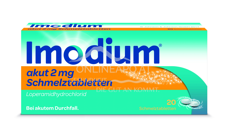 Imodium akut Schmelztabletten 2mg