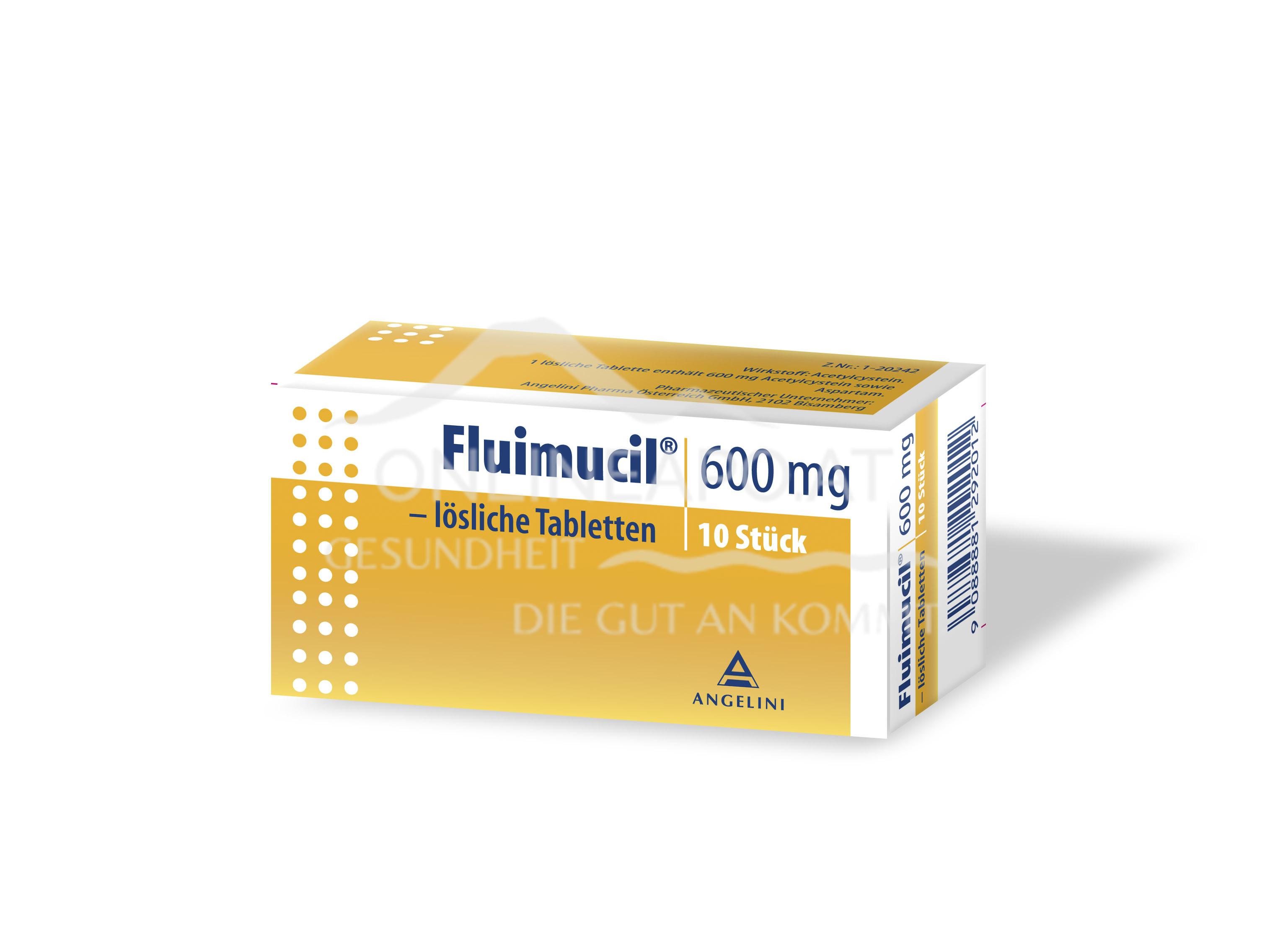 Fluimucil 600mg lösliche Tabletten