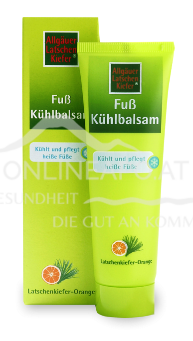Fuß Kühlbalsam Allgäuer Latschenkiefer 50ml