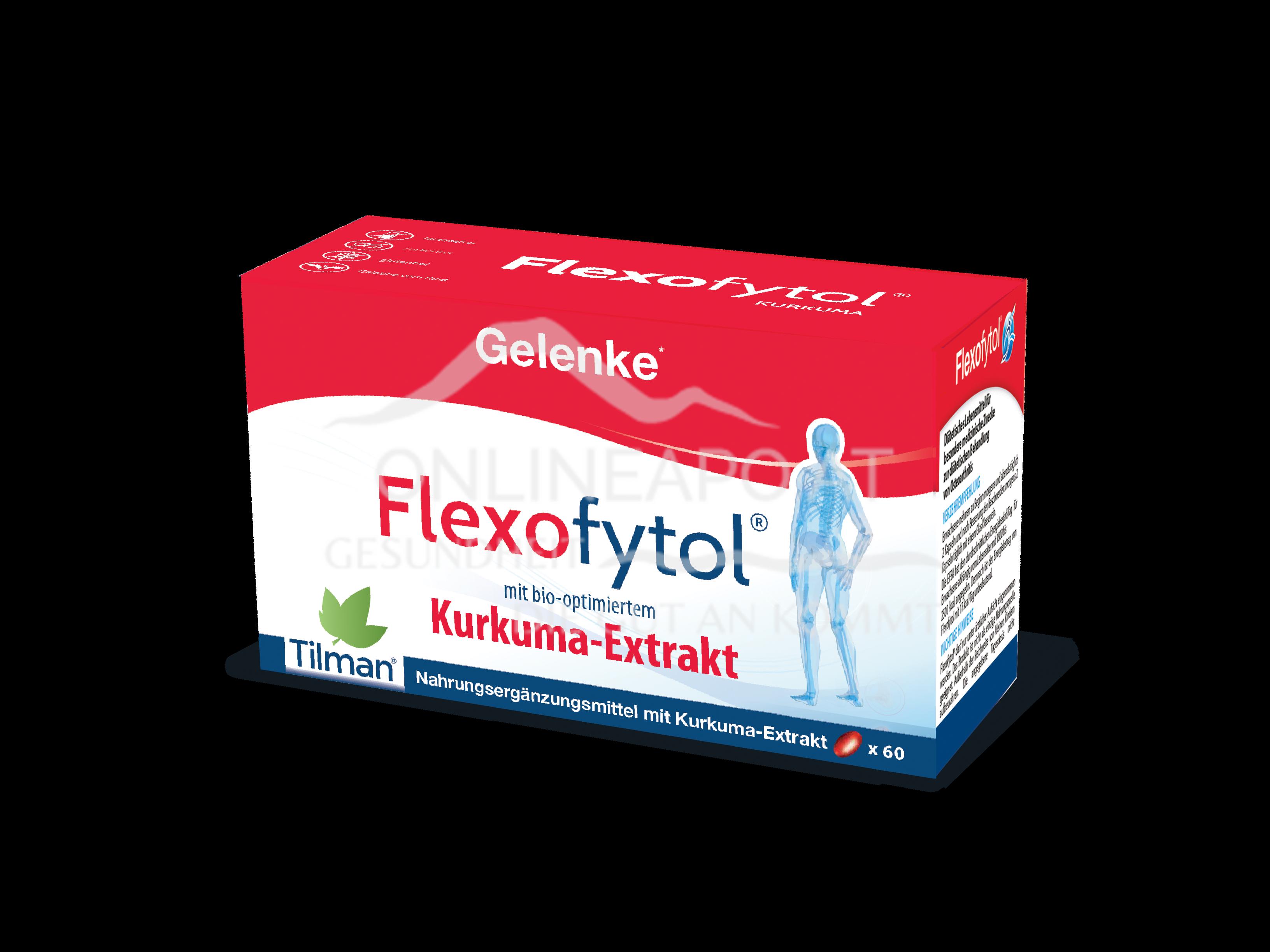Flexofytol® Kurkumaextrakt Kapseln
