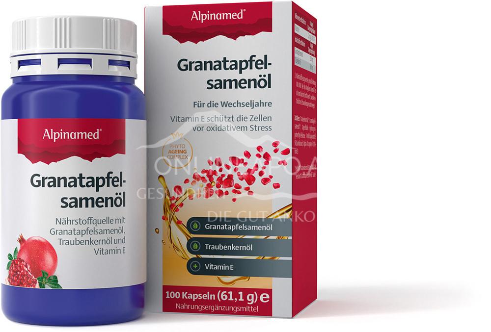 Alpinamed® Granatapfelsamenöl Kapseln