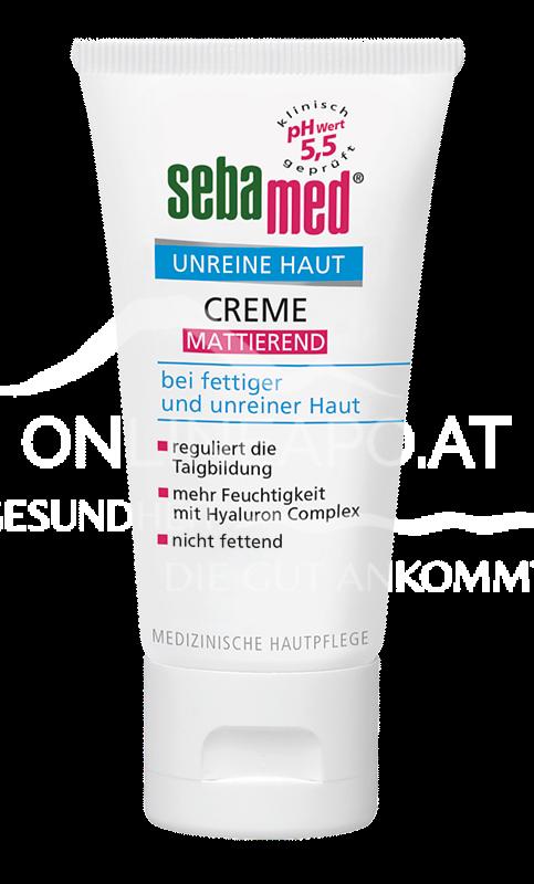 Sebamed Unreine Haut Mattierende Creme 50ml