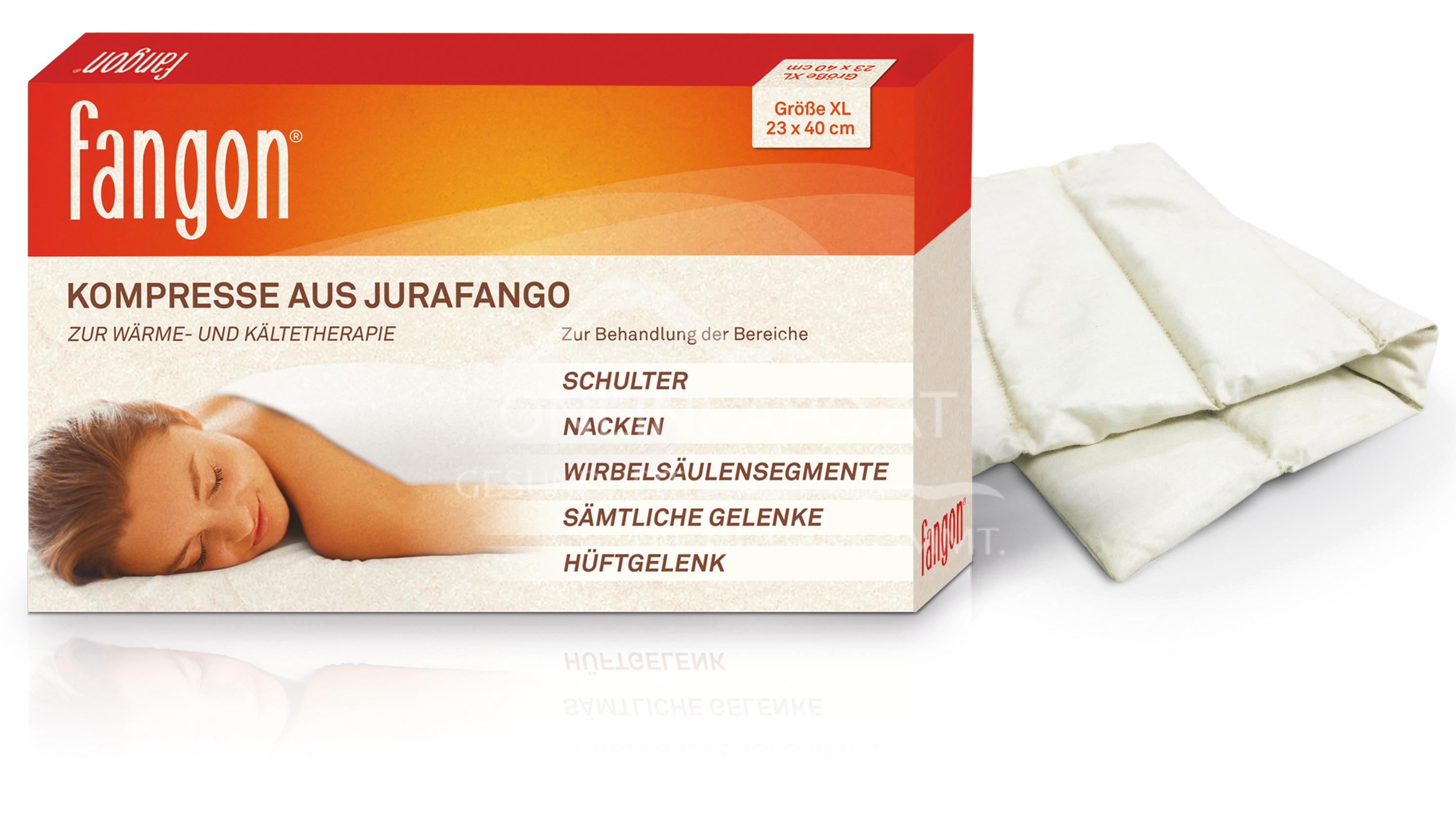 fangon® Kompresse aus Jurafango Größe XL