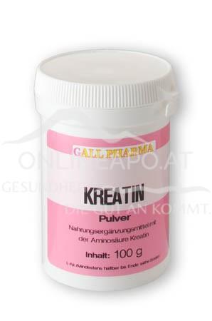 GPH Kreatin Pulver 100g