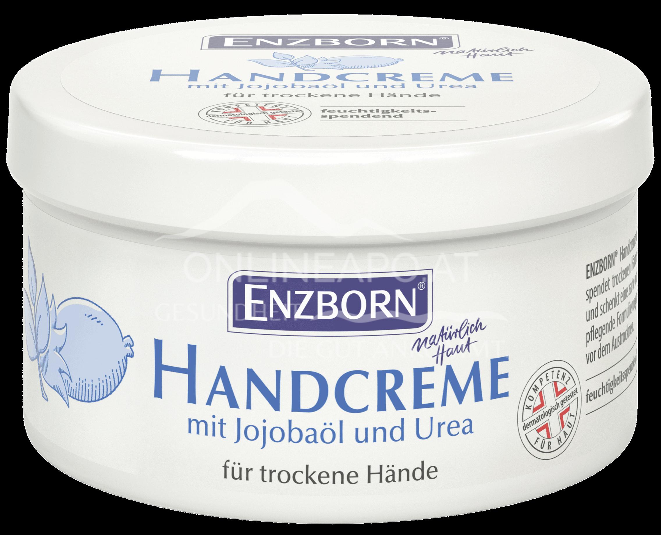 Enzborn Handcreme mit Jojobaöl und Urea