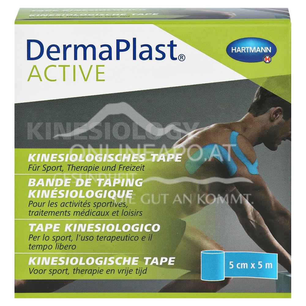 DermaPlast® ACTIVE Kinesiology, Kinesiologisches Tape 5cm x 5m