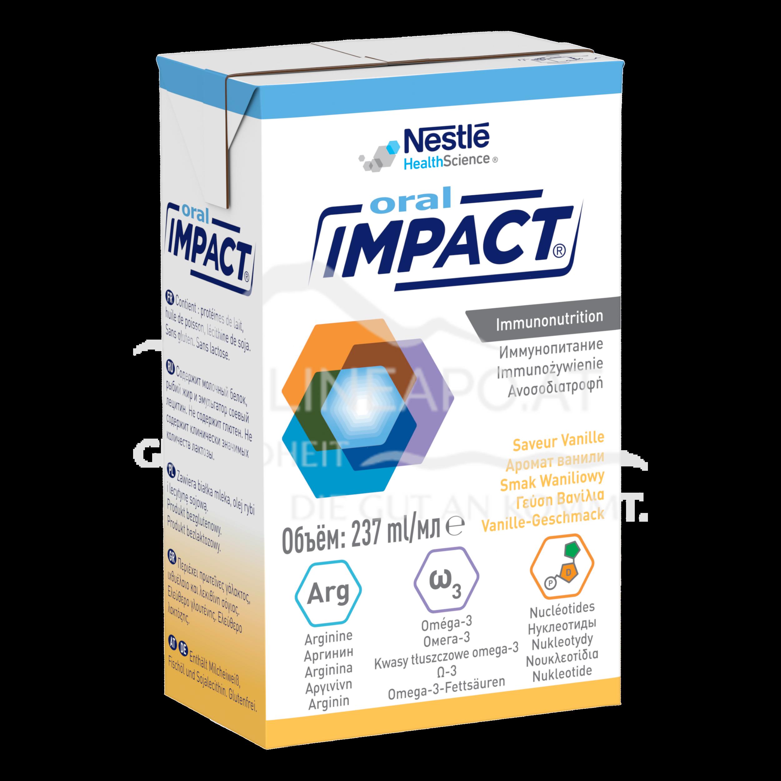 Oral Impact® Vanille 3x237ml