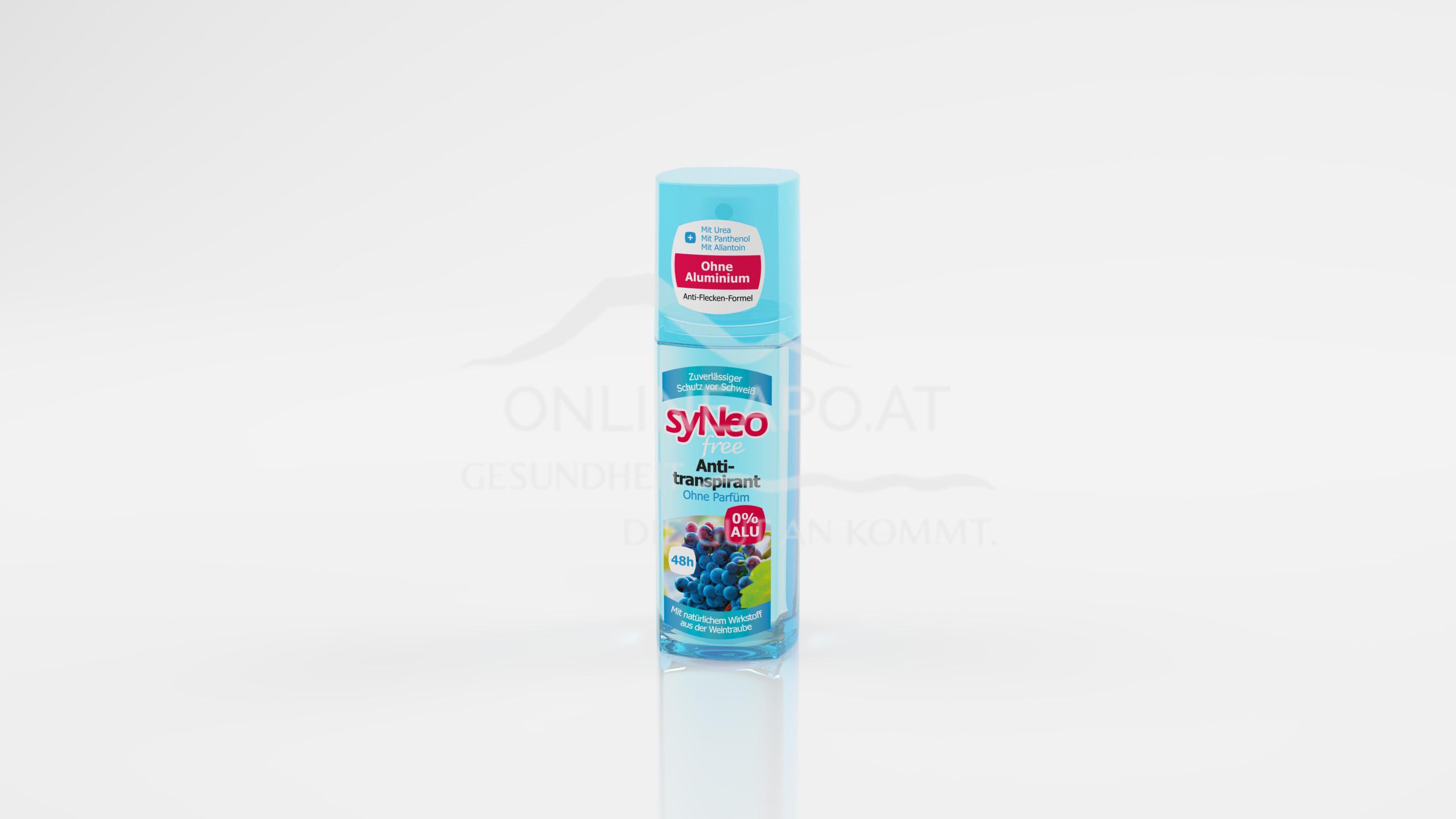 syNeo free 48h Antitranspirant Pumpspray