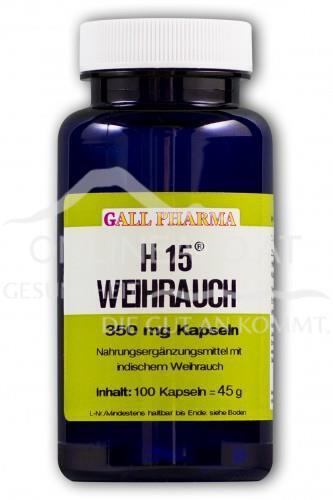 GPH Weihrauch H15 350mg Kapseln