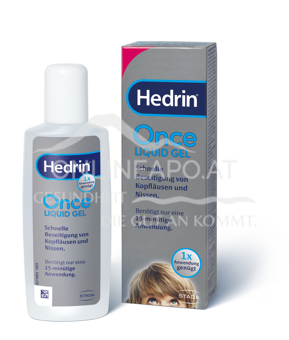 Hedrin® Once Liquid Gel
