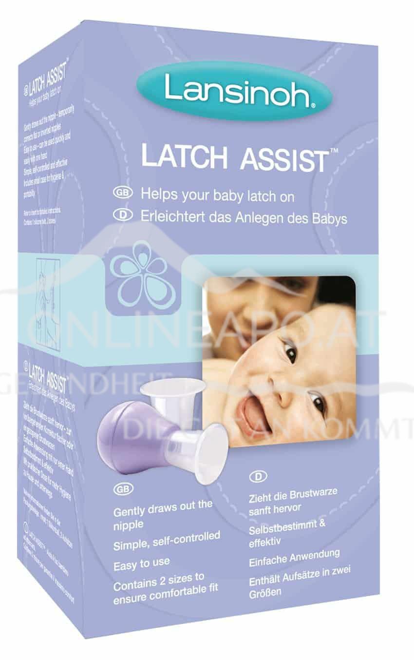 Lansinoh® Latch Assist™ Brustwarzenformer