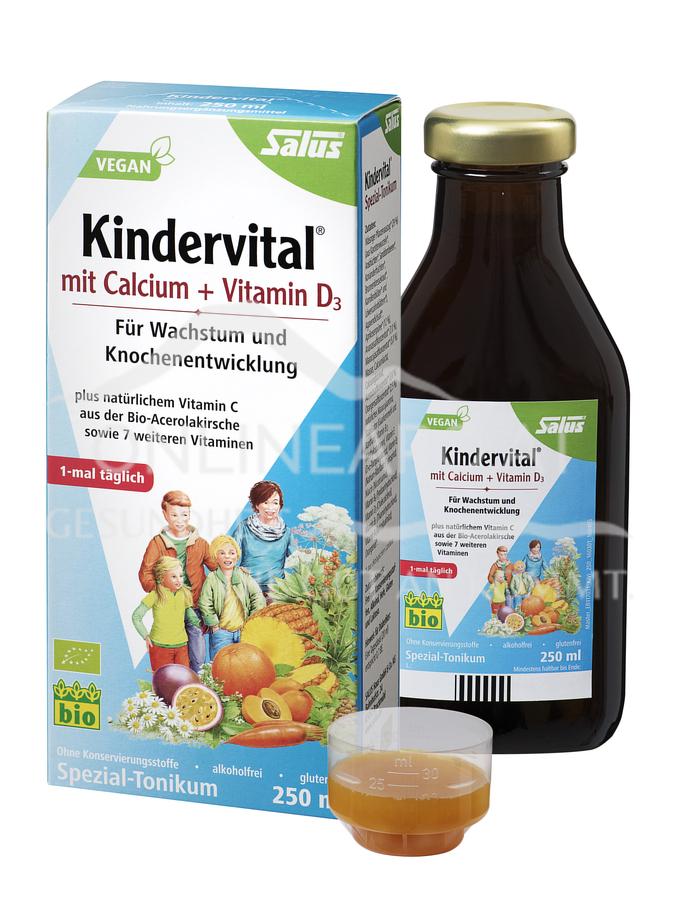Salus® Kindervital® mit Calcium + Vitamin D3 Tonikum