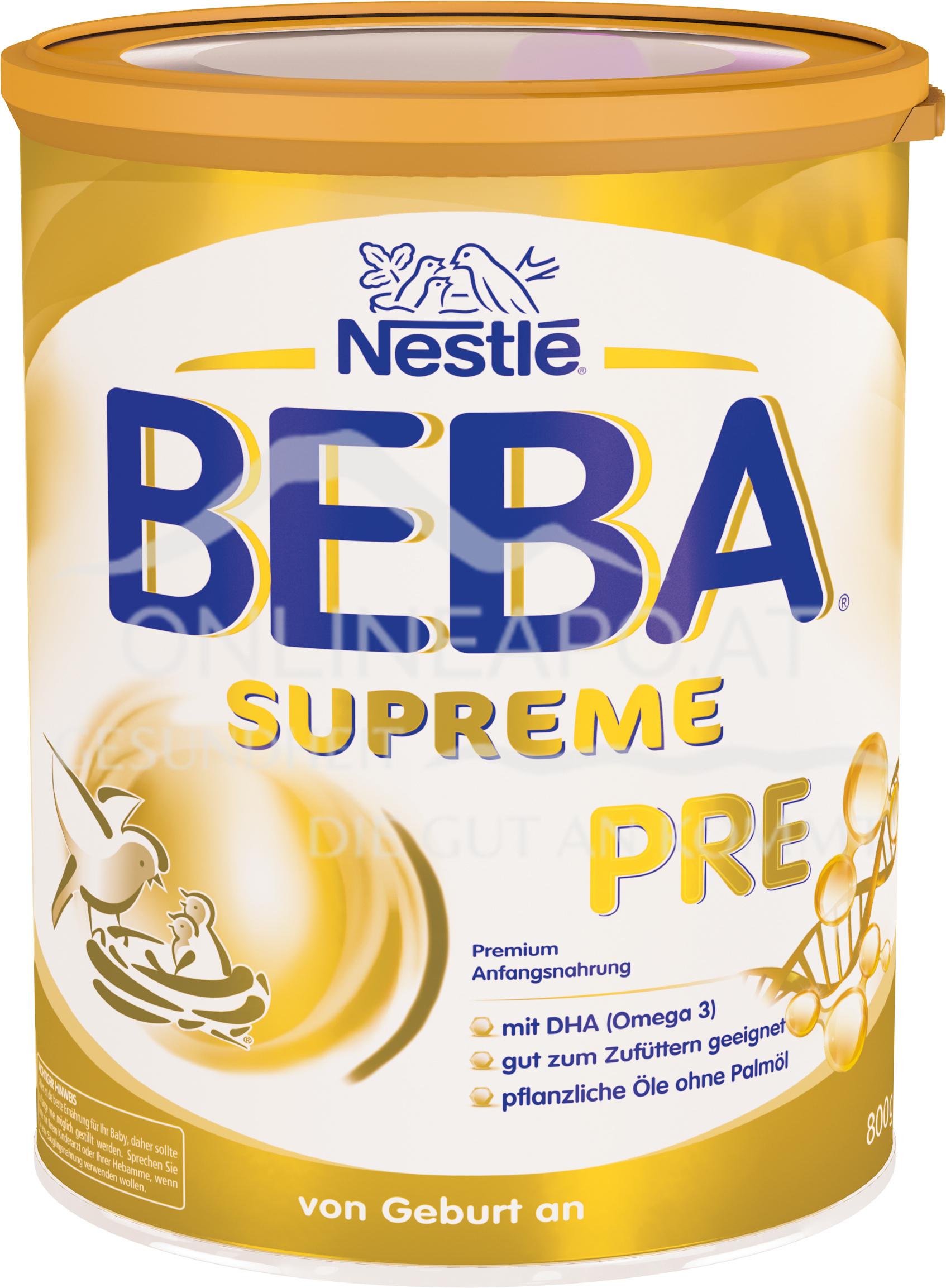 Nestlé BEBA SUPREME PRE