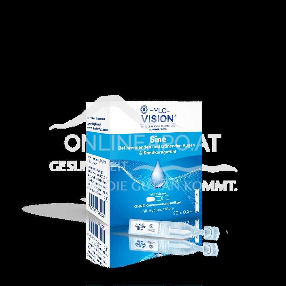 Hylo-Vision® sine Augentropfen 0,4ml Einzeldosen