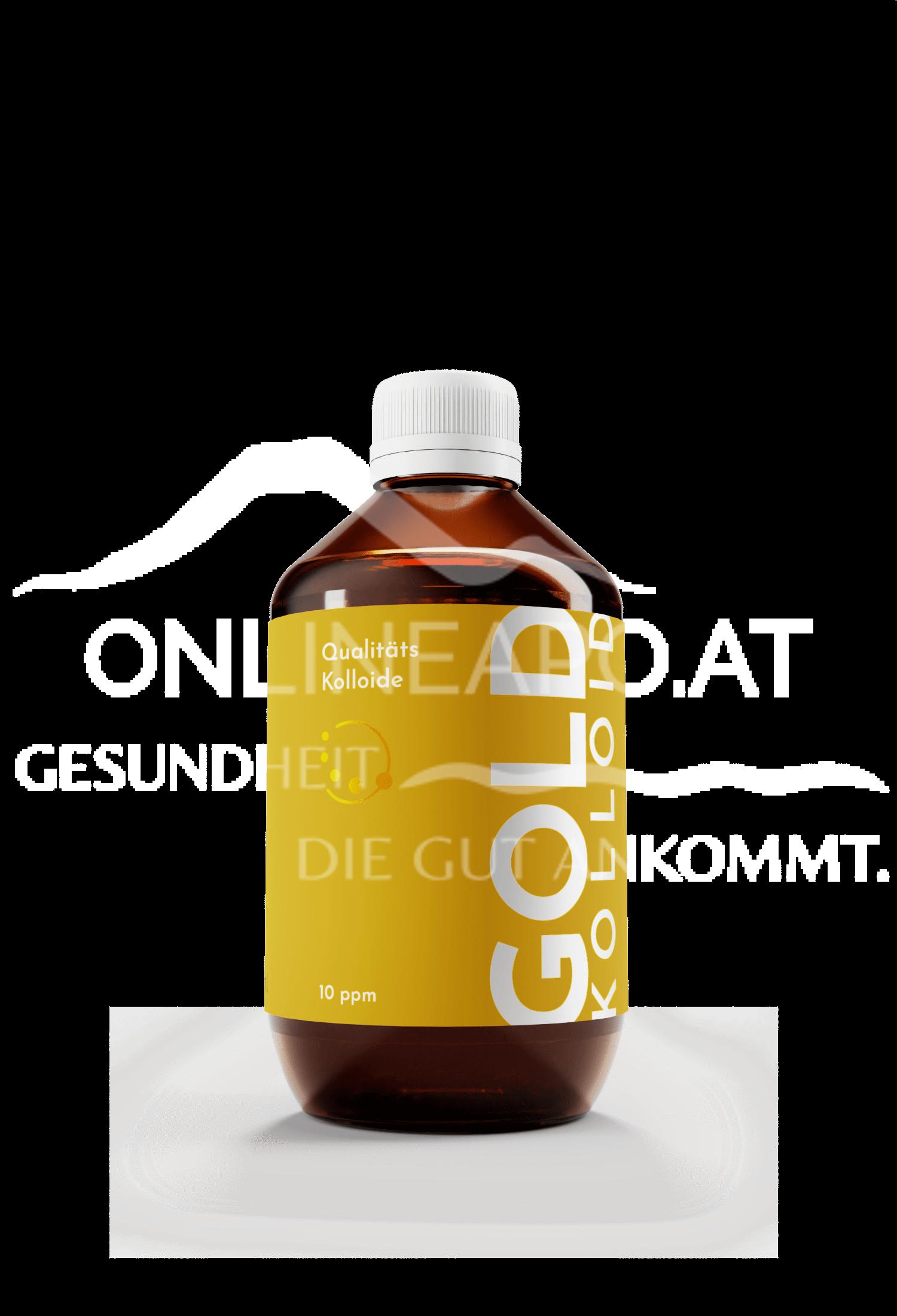 Kolloidales Gold (10 ppm)