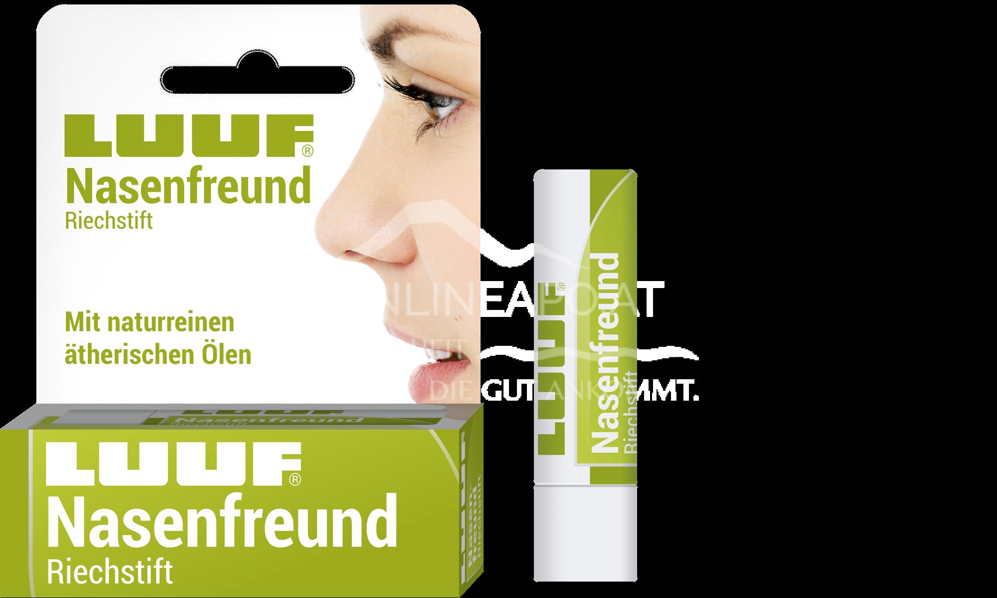 LUUF® Nasenfreund Riechstift