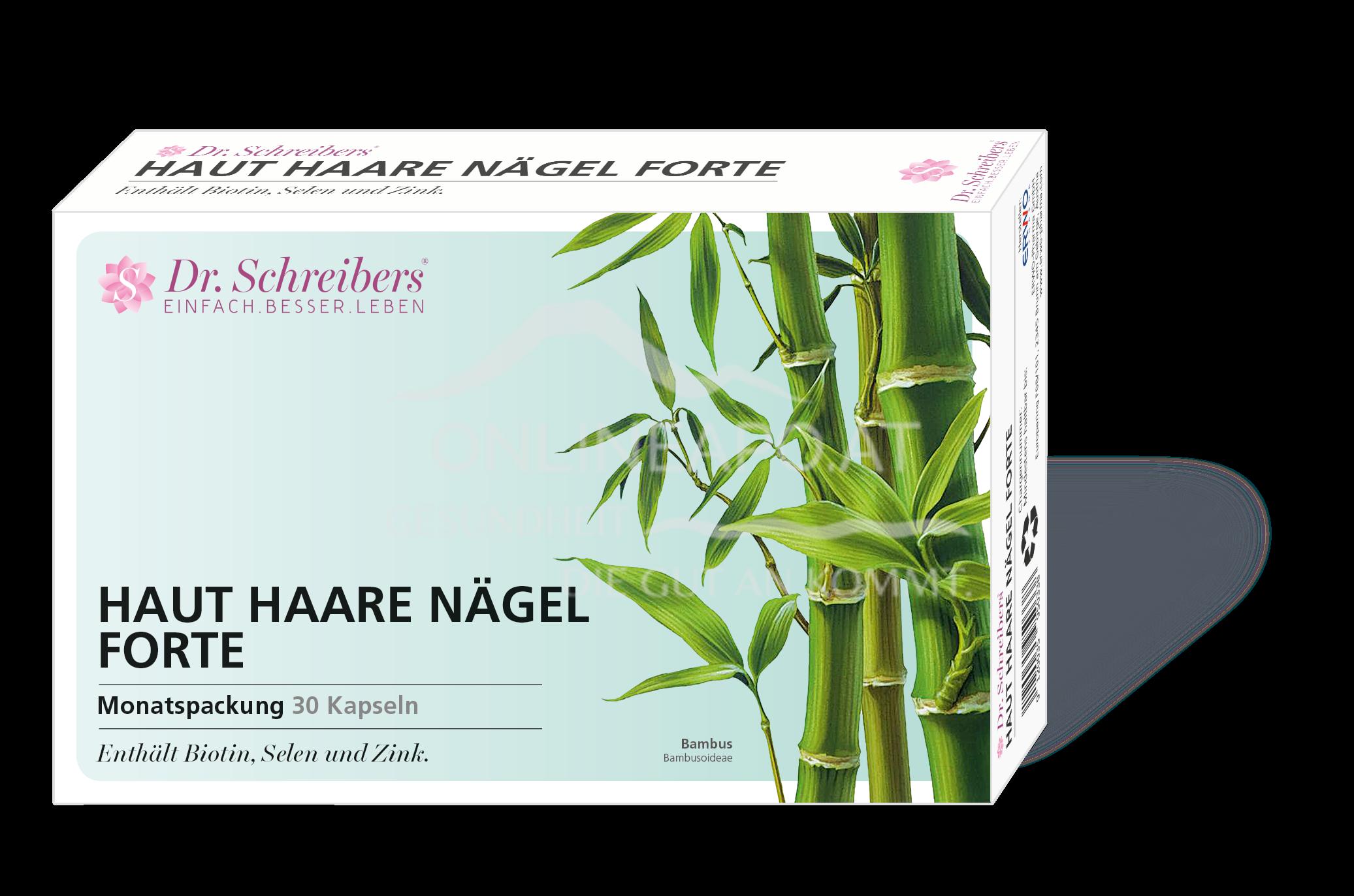 Dr. Schreibers® Haut Haare Nägel forte Kapseln