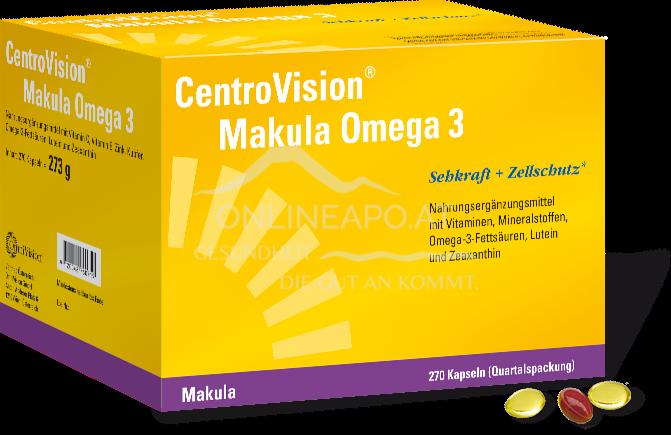 CentroVision® Makula Omega 3 Kapseln